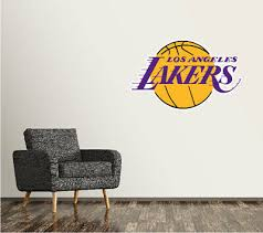 Los Angeles Lakers Wall Decal La Basketball Nba Art Sticker Vinyl Large Sr132 Ebay