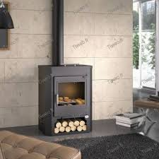 wood burning stove 9kw with upper oven