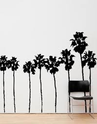 Socal Roll Of Palm Trees Wall Decal Sunset Blvd La California Palm Trees 169 Stickerbrand