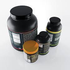 bodybuilding supplements 3d model 21