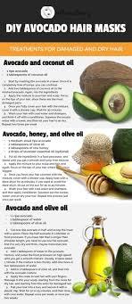 7 diy avocado hair mask treatments for