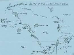 Mason Dixon Trail Map - Lancaster PA ...