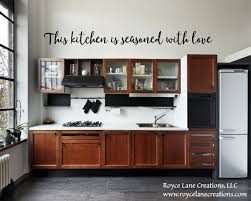 This Kitchen Is Seasoned With Love Decal Kitchen Etsy