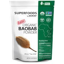 mrm raw organic baobab powder 8 5 oz