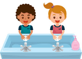 Child Washing Hands Clipart