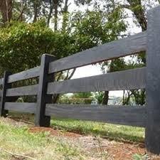 20 Inexpensive Black Fence Ideas For Garden Design Lovelyhomy