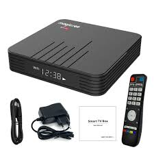MAGICSEE N5 MAX TV BOX S905X2 4G/64G 2.4G+5G WIFI Bluetooth Black
