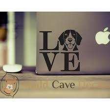 Love Your Beagle Vinyl Decal
