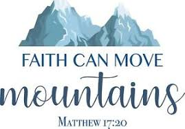 Vinyl Bible Quotes Matthew 17 20 Wall Decal Sticker Faith Can Move Mountains Ebay