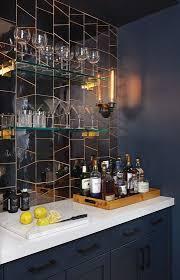 fresh palette glass shelves home bar