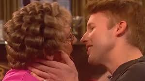 mrs brown and james blunt get it on