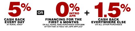 The Rural King Harvest Card