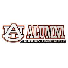 Decal Au Alumni Colorshock Auburn University Bookstore Auburn University Auburn Alumni