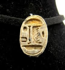 ancient egyptian steatite engraved