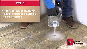 instructions to remove carpet glue
