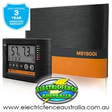 Gallagher Mb1800i 65km 195km Mains Solar Or Battery Powered Energiser Electric Fence Australia