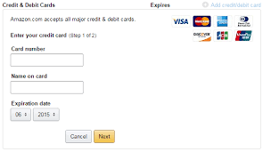 visa gift card into amazon