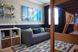Skate Surf Theme Boy Bedroom Contemporary Kids San Francisco By Alina Druga Interiors
