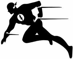 Amazon Com Dc Comics The Flash Running Silhouette Stickers Symbol 5 5 Decorative Die Cut Decal For Cars Tablets Laptops Skateboard Red Computers Accessories