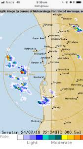 Perth Weather : Rain and Thunderstorms ...