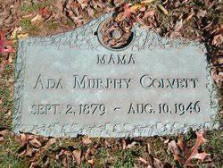 Ada Hinton Murphy Colvett (1879-1946) - Find A Grave Memorial
