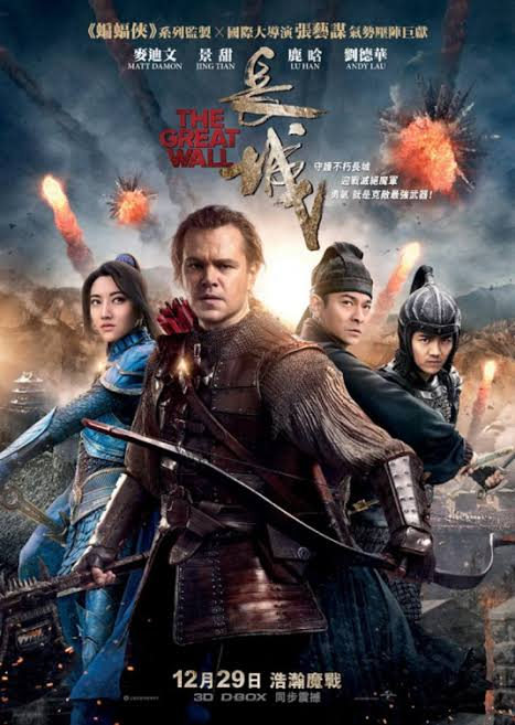 The Great Wall (2016) Hindi 480p BRRip Dual Audio [Hindi+ Eng] x264 Full Movie