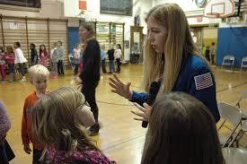 File:Astronaut Abby Abigail Harrison School Visit Students.jpg - Wikimedia  Commons
