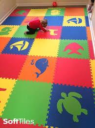 Softtiles Mixed Animal Foam Mats Create Custom Play Mats For Kids D172 Foam Floor Tiles Playroom Flooring Kids Playroom Flooring