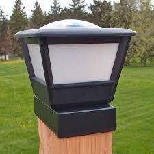 4x6 Fence Post Solar Light By Free Light 4x6 Post Cap Solar Light