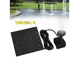 brushless dc solar water pump power