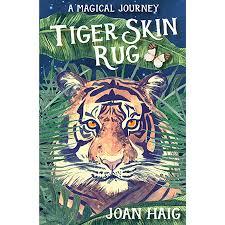 tiger skin rug by joan haig 8 12 age