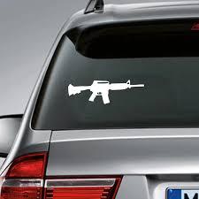 Ar 15 Rifle Decal Car Truck And Laptop Decor 2nd Amendment Gun Rights Vinyl Sticker For Men Boys Room Decoration Wall Stickers Aliexpress