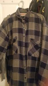 rugged exposure flannel jacket large