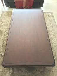 stain lampung coffee table