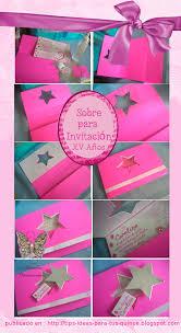 Sobres Para 15 Anos Invitaciones Tarjetas De Invitacion