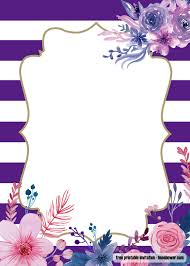 Free Lavender Purple Baby Shower Invitations Design Con Imagenes