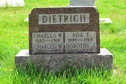Ada Thompson Dietrich (1880-1965) - Find A Grave Memorial