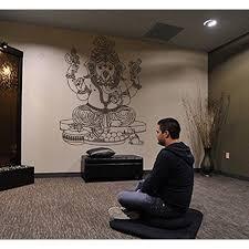 Stickersforlife Ik429 Wall Decal Sticker Room Decor Wall Art Mural Indian God Om Elephant Hindu Success Buddha India Ganesha Ganesh Hindu Welfare Bedroom Meditation Yoga Walmart Com Walmart Com