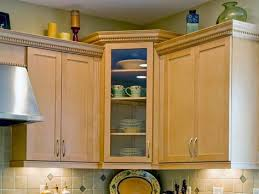 display glass front kitchen cabinet
