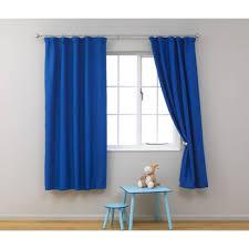 Short Curtains Blue Kids Blackout Curtains Kids Curtains Boys Room Curtains