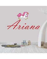 Don T Miss Out On These Deals On Girl S Custom Name Unicorn Wall Decal Sticker Choose Your Own Name And Letter Style Multiple Sizes Unicorn Wall Decal Personalized Unicorn Name Wall Decal Unicorn