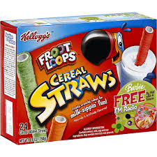 froot loops cereal straws cereal