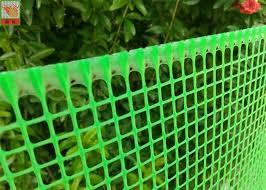 Plastic Garden Mesh Netting Fence Garden Protection Netting Green Color