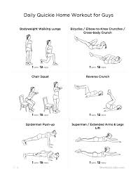 daily workout exercises at