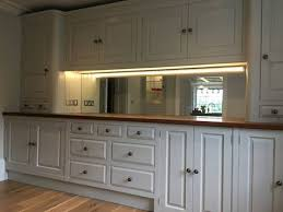 mirror splashback kitchen antique
