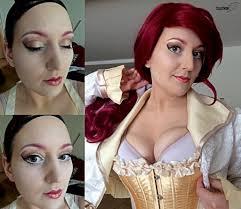 gold steunk makeup tutorial