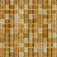 glass and aluminum mosaic wall tiles