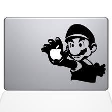 Mario Macbook Decal Macbook Vinyl Decals The Decal Guru