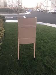 diy guide 6 cardboard target stand