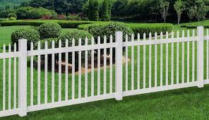4 Ft H X 6 Ft W Nantucket Fence Vinyl Picket Fence Garden Shed Diy Front Yard Decor